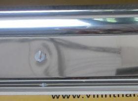 Máng đèn led 2x1.2m chóa inox
