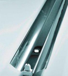 Máng đèn học đường phản quang inox 1x1,2