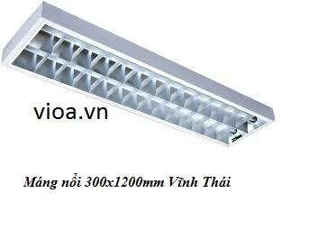 Máng Đèn Led - Máng Dương Trần 2 Bóng 1m2