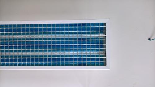 máng đèn học đường dạng lưới