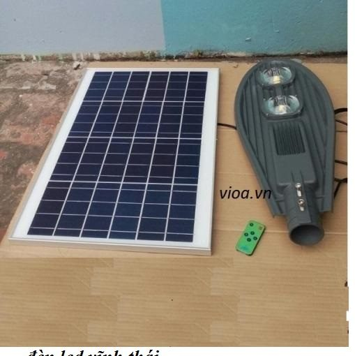 đèn đương led năng lượng mặt trời 100w