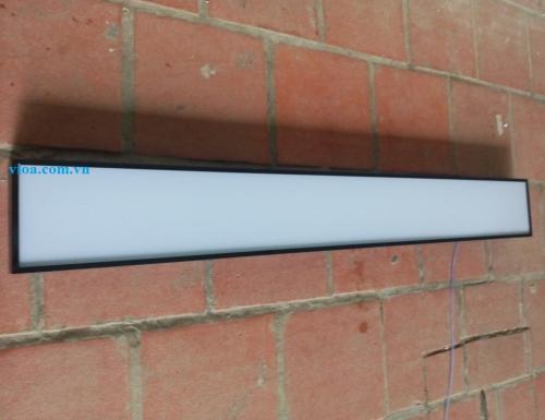Máng đèn led - Máng hộp thả trần 150x1200 chụp mica chống lóa Vĩnh Thái