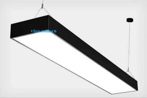 Máng đèn led - Máng đèn Hộp Thả trần 300x1200 có nắp chống lóa Vĩnh Thái