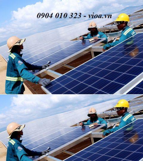 tấm pin năng lượng mặt trời 350w poly Vĩnh Thái