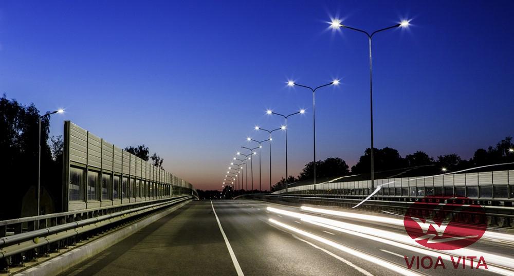 Đèn đường LED mẫu mới nhất 2019