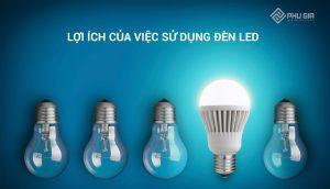 Lợi ích của việc sử dụng đèn LED