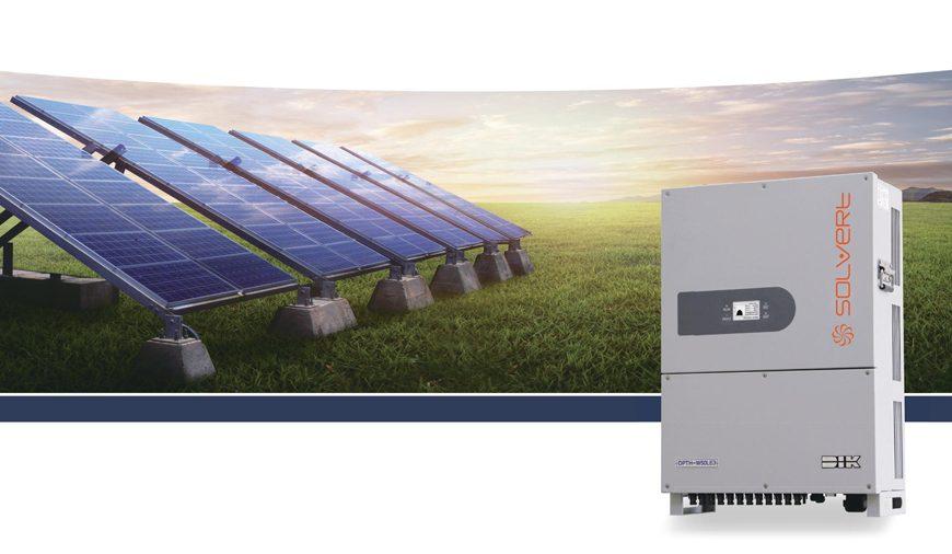Biến tần sử dụng cho hệ thống điện năng lượng mặt trời